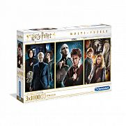 Clementoni High Quality Collection puzzle 3x1000 db - Harry Potter
