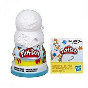 Play-Doh karácsonyi gyurma - hóember