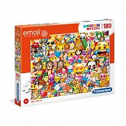 Clementoni supercolor puzzle 180 db - Emoji