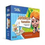 Tolki interaktív foglalkoztató könyv szett - Játékos tanulás