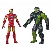 Pókember: Maximum Venom - Vasember és Venomized Hulk