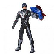 Bosszúállók Titán hősök POWER FX - Amerika kapitány figura