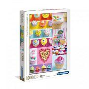 Clementoni High Quality Collection puzzle 1000 db - Süti kollázs