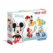 Clementoni bébi puzzle - Mickey és barátai