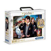 Clementoni puzzle bőröndben 1000 db - Harry Potter
