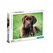 Clementoni High Quality Collection puzzle 500 db - Labrador kölyök