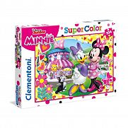 Clementoni supercolor puzzle 104 db - Minnie