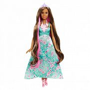 Barbie Dreamtopia hajvarázs hercegnő - barna