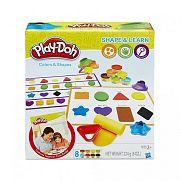 Play-Doh színek és formák gyurmaszett