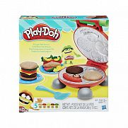 Play-Doh hamburger parti