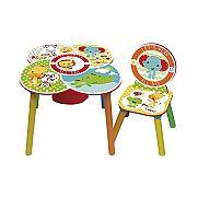 Fisher-Price asztal és szék szett
