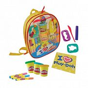 Play-Doh kreatív csomag hátizsákban