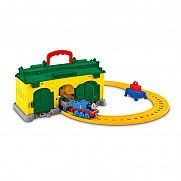 Thomas Collectible Railway - Tidmouth hordozható kocsiszín