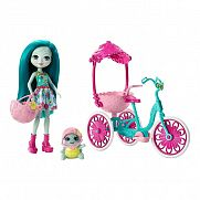 Enchantimals tricikli két személynek játékszett