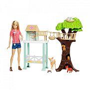 Barbie erdei állatmentő állomás