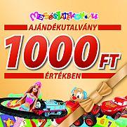 Ajándékutalvány - 1000 Ft értékben