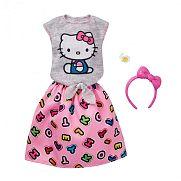 Barbie Hello Kitty ruhák - Rózsaszín szoknyás szett