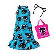 Barbie Hello Kitty ruhák - Kék ruha kiegészítőkkel
