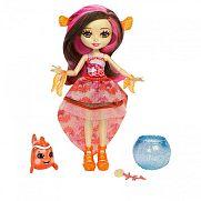 Enchantimals baba vízi állatkával - Clarita Clownfish és Cackle