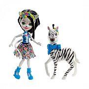 Enchantimals baba nagy állatkával - Zelena Zebra és Hoofette