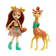 Enchantimals baba nagy állatkával - Gillian Giraffe és Pawl