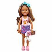 Barbie Kemping móka - Chelsea barna hajú